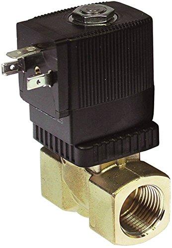 BÜRKERT Serie 6213 Magnetventil Messing 230V 2-Wege Eingang 1/2' Ausgang 1/2' DN 10 Anschluss 1/2' 6213 10bar Länge 50mm EPDM