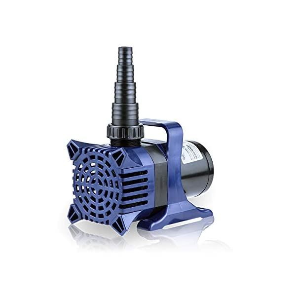 Alpine Corporation Alpine PAL3100 Cyclone Pond Pump-3100 Fountains, Waterfalls, and Water Circulation Pump, 3100 GPH…