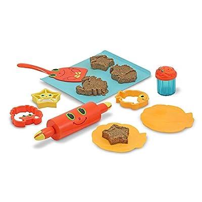 Melissa & Doug Sunny Patch Seaside Sidekicks Sand Cookie-Baking Set (Frustration-Free Packaging)
