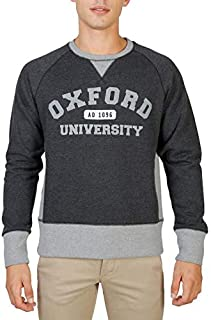 قميص رياضي رجالي من Oxford University رمادي اللون