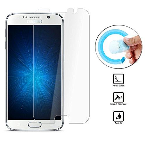 Lobwerk Panzerfolie für Samsung Galaxy S7 biegsam Splitterfrei Bildschirm Schutz 9H Smartphone passend zu Modell SM-G930F