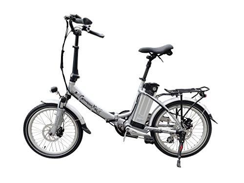 GermanXia Elektro-Faltrad Mobilemaster Touring CH 7G Shimano 20 Zoll, eTurbo 250 Watt HR-Antrieb, bis zu 138 km Reichweite nach StVZO Bild 6*