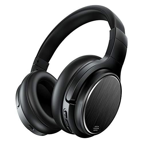 Cuffie Bluetooth, Chaobai Cuffie Over Ear 4.1 Cuffie Wireless con Noise Cancelling, Hi-Fi, 50 Ore di Riproduzione Musicale, Microfono, Modalità Wireless Cablata, Ricarica USB per Telefoni PC TV Tablet