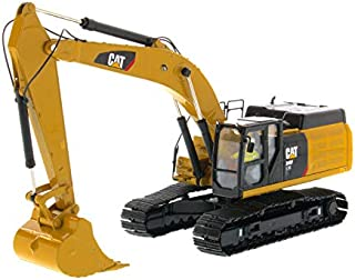 Diecast Masters CAT Caterpillar 349F L XE Hydraulic Excavator with Operator High Line Series 1/50 Diecast Model 85943