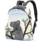 Koala Australiana Bolso Adolescentes Mochila Escolar Mochilas livianas Mochila de Viaje Mochilas diarias