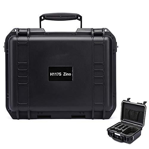 Beesuya Custodia Rigida per Il Trasporto - Valigia Impermeabile a Prova di Esplosione di Alta qualità Portatile - Custodia Drone per Hubsan Zino H117S 4K Pieghevole Drone-Nera Eco - Friendly