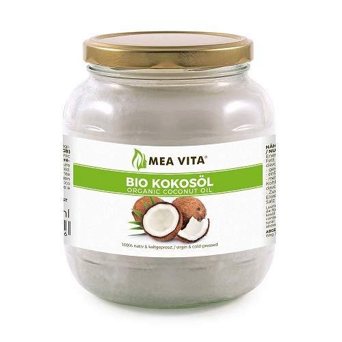 Meavita Aceite De Coco Orgánico Meavita, Nativo, 1 Paquete (1X 1000 Ml) En Un Vaso 1000 ml