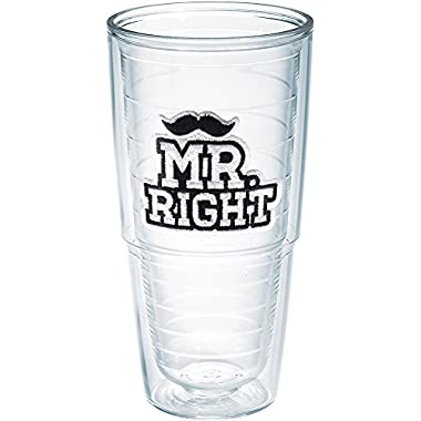 Tervis Mr. Right 24oz Clear Tumbler