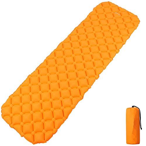TRF Isomatte, Ultralight Aufblasbare Isomatte mit Tragetasche - Komfortable Unterstützung, Kleinst - für Lager, Reise, Hängematten, Wandern & Mehr