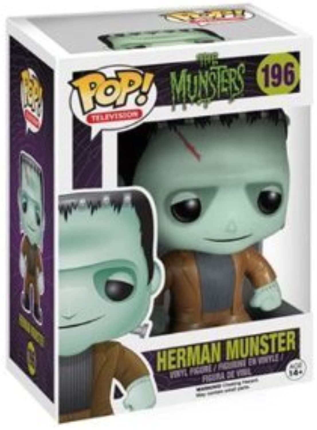 The Munsters - Funko Pop  - Herman 196 Collector's figure Standard by The Munsters