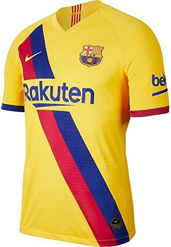NIKE FC Barcelona 2019/20 Vapor Match Away Camiseta Equipación FC Barcelona Away 19-20 Hombre: Amazon.es: Deportes y aire libre
