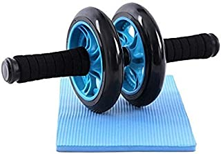 Private Image Dual Wheel AB Roller Abdominal Toner Exerciser (For Core Abdominal Workouts and Belly Fat Burner)