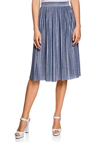 Falda midi plisada de oodji – en 4 colores