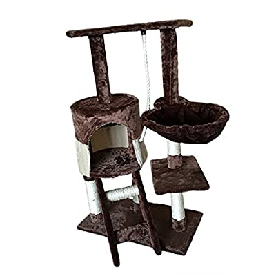 Tuff Concepts Cat Tree with Scratching Post Scratcher Activity Center