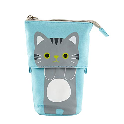 STOBOK Pen Case Multifunction Pencil Holder Pouch Storage Bag Desk Marker Organizers Ornaments School Supplies Office Favors