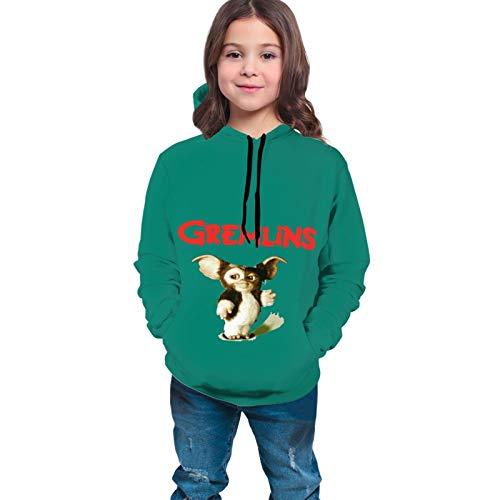 Chimmy95 Gremlins Cute Gizmo Funny Artwork Style Hoodies für Mädchen Teen Hoodie Sweatshirt Langarm Shirt Hoodies für Teenager Hoodies für Jungen(L(14-16))