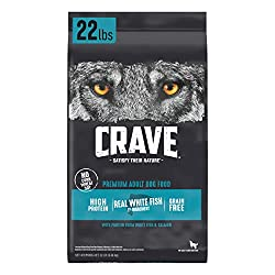 CRAVE Grain-Free Salmon & Ocean Fish Dry Food