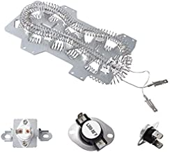Dryer Heating Element(DC47-00019A)for Samsung, Thermal Fuse( DC96-00887A) and (DC47-00016A), Thermostat (DC47-00018A )Dryer Repair Kit Replacement