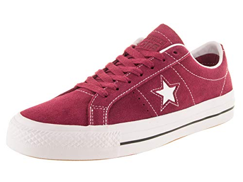 Converse Unisex One Star Pro Ox RH RhubarbBlackWht Skate Shoe 75 Men US 9 Women US