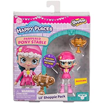 Shopkins Happy Places Lil Shoppie Pack Jessic | Shopkin.Toys - Image 1