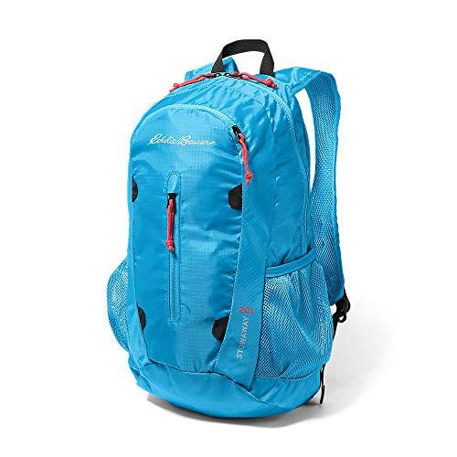Eddie Bauer Unisex-Adult Stowaway Packable 20L Daypack, Peak Blue Regular ONESZE