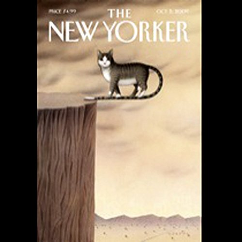 The New Yorker, October 5, 2009 (John Cassidy, George Saunders, Zev Borrow) audiobook cover art