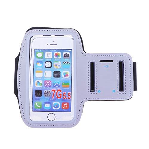 ABOOFAN 5. 5 pulgadas universal brazo banda caso resistente al agua deportes brazalete pantalla táctil Ejercicio multifunción teléfono caso (rosa) accesorios del teléfono