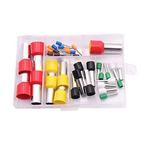 40-teiliges Ton-Ausstechformen-Set mit Aufbewahrungsbox, Mini-Einkerbung, runde Form, Backringe, Keramik, Dotting Tools für Polymer-Ton, Keramik