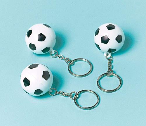 amscan 390264 Schlüsselanhänger Championship Soccer Set