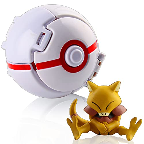 Esportic Pokemon Poke Ball, Pokemon, Figurina Poke Ball, Pokemon Throw 'N Pop Poké Ball, Pokémon Ball, Kid Toys Plastic Anime Pokeball Figure, Bambini e Adulti Festa Giocattolo Regalo (Charmander)