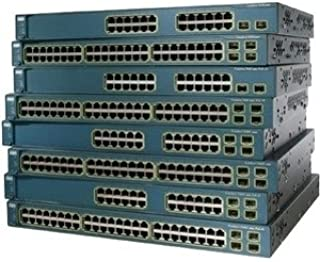 Cisco-IMSourcing Catalyst 3560G-24PS PoE Switch - 24 Ports - Manageable - Refurbished - 24 x RJ-45 - 4 x Expansion Slots - 10/100/1000Base-T, 100Base-X - Rack-mountable, Desktop - WS-C3560G-24PS-S-RF