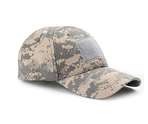 ZARRS Casquette de Baseball Camouflage,Casquettes de Militaire Army Camo Baseball Caps Unisexe Hommes Femmes Multicam pour Chasse Pêche Camping