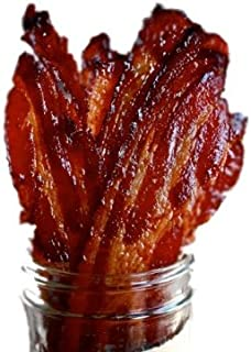 Brown Sugar Bacon Jerky Candied Bacon (Bulk Jerky) (80 Packs)