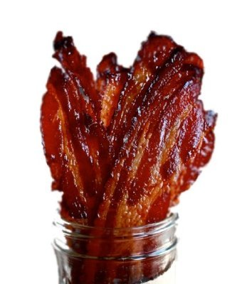 Brown Sugar Bacon Jerky Candied Bacon (Bulk Jerky) (10 Packs)