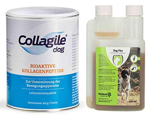 Collagile Dog 1x 225g + Dog Flex 250ml / bei akuten Gelenkbeschwerden