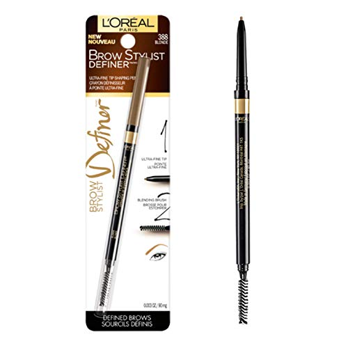 L'Oreal Paris Makeup Brow Stylist Definer Waterproof Eyebrow Pencil, Ultra-Fine Mechanical...