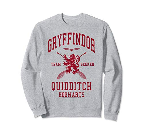 Harry Potter Gryffindor Quidditch Team Seeker Sweatshirt