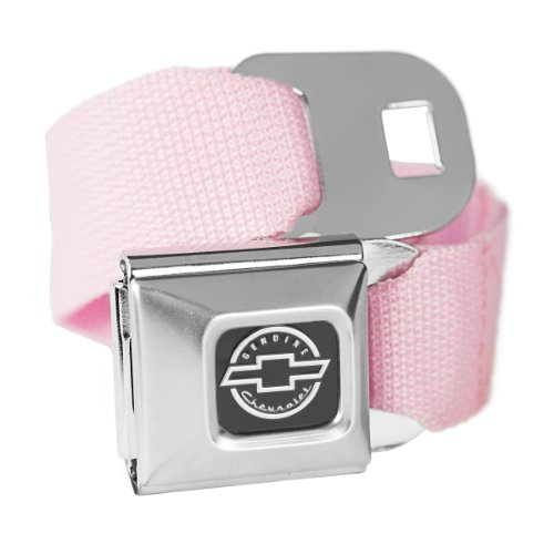 Buckle Down Rose Chevrolet Boucle de ceinture de sécurité ceinture de mode – Licence Officielle