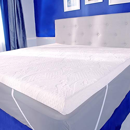 Three-inch Mattress Bed Topper - by MyPillow (Twin XL)