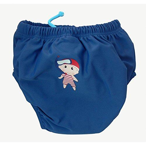 Tutti i Vestiti Anti UV Bambino 0-2 Anni Mayo Parasol Pannolino da Bagno Anti UV Lavabile per Il Nuoto per Bambino