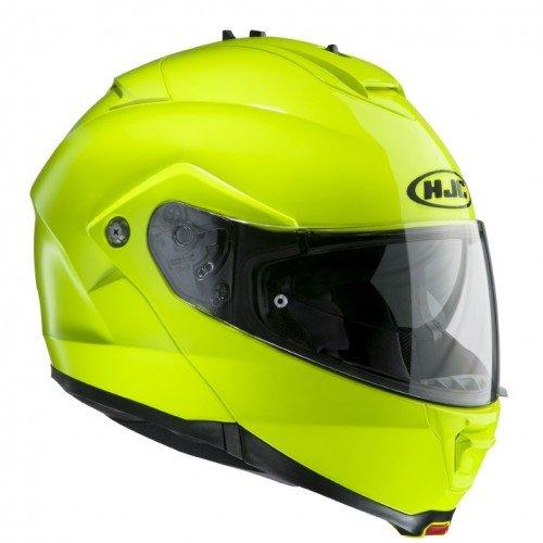 HJC 1249_17704 Motorradhelm is Max II Grün Neon, gelb, XL