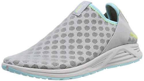 Columbia Molokini Slip, Zapatillas de Trail Running para Mujer, Gris (Earl Grey, Coastal Blue), 39 EU