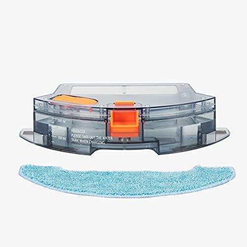 Bagotte Saugroboter, 300ML Wassertank , Staubsauger Roboter für Wischfunktion