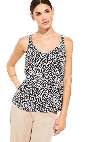 Comma - Blusa con espalda para mujer