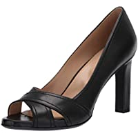 Naturalizer Odetta Women's Open Toe Pumps (Black)
