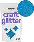 Hemway Craft 100g -Purpurina ultrafina (1/128', 0,2 mm), azul celeste, Ultrafine 1/128' .008' 0.2MM