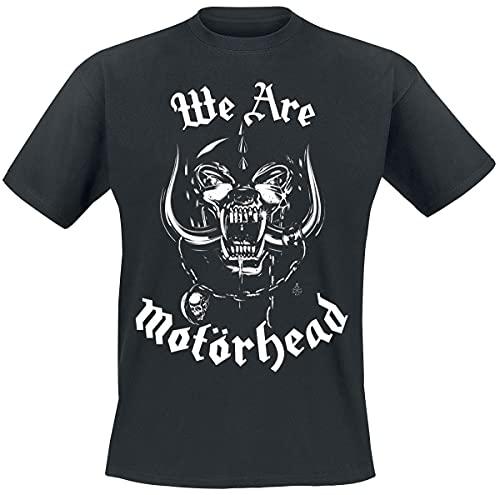Motörhead We are Homme T-Shirt Manches Courtes Noir 3XL, 100% Coton, Regular/Coupe Standard