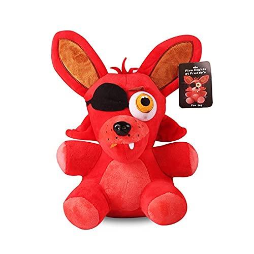 CDDKJDS 18cm FNAF Cinco Noches En Las 4 Pesadillas De Freddy Foxy Fox Relleno De Peluche De Peluche De Juguetes Suaves Doll Regalos (Color : 09)