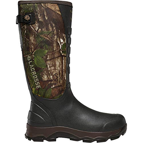 LaCrosse Men's 376121 4xAlpha 16' Waterproof Hunting Snake Boot, Realtree Xtra Green - 12