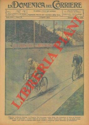 Prima vittoria ciclistica italiana in Francia (Ottavio Bottecchia).
